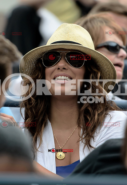 NEW YORK, NY - September 3, 2012: Actress Eva Longoria attends Day 8 of the 2012 U.S. Open Tennis Championships at the USTA Billie Jean King National Tennis Center in Flushing, Queens, New York, USA. © mpi105/MediaPunch Inc. /NortePhoto.com<br />