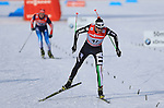 03/01/2014, Dobbiaco, Toblach - 2014 Cross Country Ski World Cup Tour de ski <br /> Dietmar NOECKLER in action during the Men 35 km Free Pursuit  in Dobbiaco, Toblach, Italy on 03/01/2014.