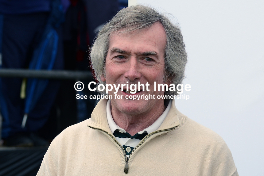 Former N Ireland goalkeeper Pat Jennings was one of the sports personalities who competed in the Pro-AM which proceeded the 2012 Irish Open Golf Championships at Royal Portrush Golf Club. 201206270278..© Victor Patterson, 54 Dorchester Park, Belfast, N Ireland. Tel: +44 2890661296; Mobile: +44 7802 353836; Emails: victorpatterson@me.com & victorpatterson@gmail.com; www.victorpatterson.com
