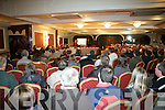Large crowds gathered in support of The N21 Barna Realignment Petition group who held a public meeting last Monday night in The Devon Inn, Templeglantine, to highlight the dangers on the N21 Barna road.