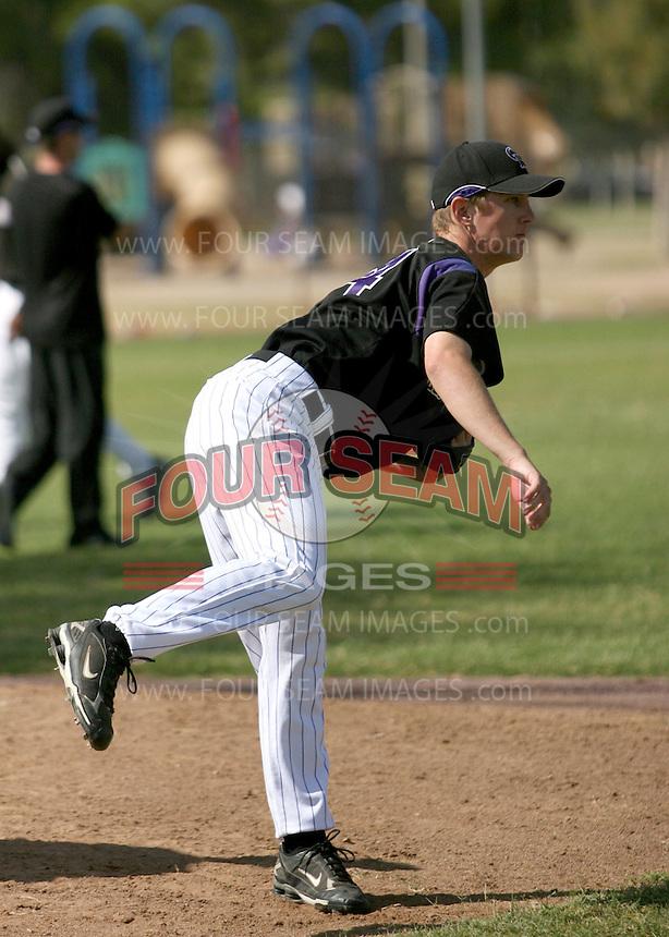 Adam Jorgenson / Colorado Rockies 2008 Instructional League..Photo by:  Bill Mitchell/Four Seam Images