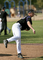 Adam Jorgenson / Colorado Rockies 2008 Instructional League..Photo by:  Bill Mitchell/Four Seam Images