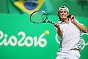 Taro Daniel (JPN), <br /> AUGUST 11, 2016 - Tennis : <br /> Men's Singles Third Round <br /> at Olympic Tennis Centre <br /> during the Rio 2016 Olympic Games in Rio de Janeiro, Brazil. <br /> (Photo by Koji Aoki/AFLO SPORT)