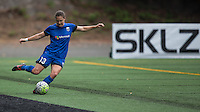 Seattle, WA - Saturday Aug. 27, 2016: Kendall Fletcher during a regular season National Women's Soccer League (NWSL) match between the Seattle Reign FC and the Portland Thorns FC at Memorial Stadium.