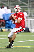 July 30th 2008:  Quarterback Trent Edwards (5) of the Buffalo Bills during the sixth day of training camp at St. John Fisher College in Rochester, NY.  Photo Copyright Mike Janes Photography