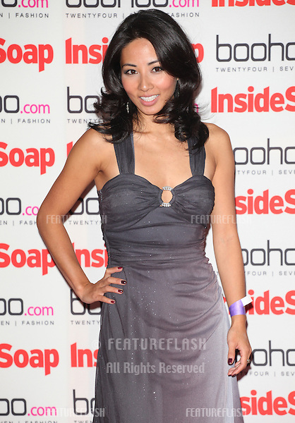 Jing Lusi arriving for the 2012 Inside Soap Awards, at No.1 Marylebone, London. 24/09/2012 Picture by: Alexandra Glen / Featureflash