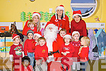 Children at Oakview Childcare in Oakview Village, Tralee who met Santa who arrived by Fire Engine on Friday.