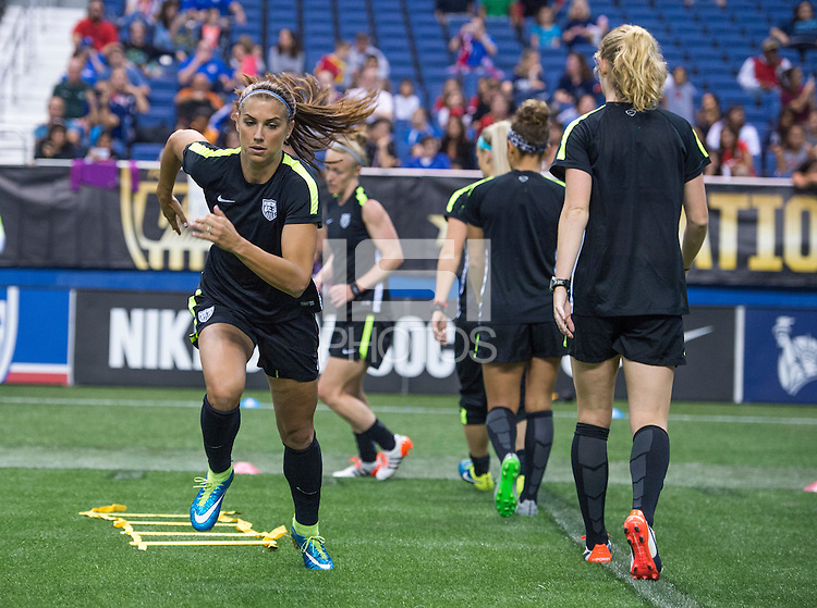 San Antonio, TX - December 9, 2015:  The USWNT trained in preparation for the USWNT Victory Tour.