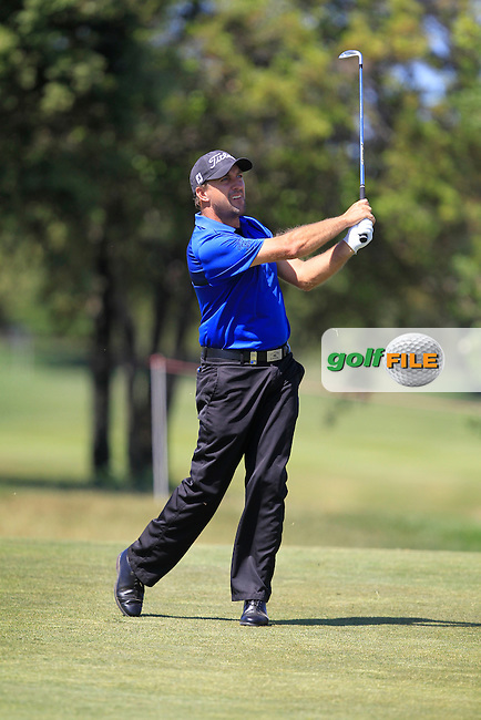 Darren Fichardt (RSA) on the 16th fairway during Round 4 of the Open de Espana  in Club de Golf el Prat, Barcelona on Sunday 17th May 2015.<br /> Picture:  Thos Caffrey / www.golffile.ie