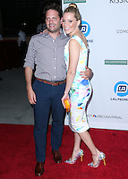 UNIVERSAL CITY, CA, USA - SEPTEMBER 30: Max Handelman, Elizabeth Banks arrive at LA's Promise Gala 2014 held at the Globe Theatre at Universal Studios on September 30, 2014 in Universal City, California, United States. (Photo by Xavier Collin/Celebrity Monitor)