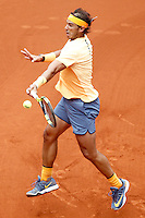Rafael Nadal, Spain, during Madrid Open Tennis 2016 Semifinal match.May, 7, 2016.(ALTERPHOTOS/Acero) /NortePhoto.com