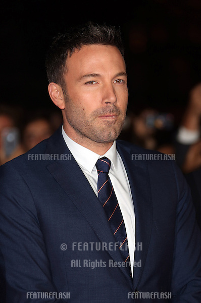 Ben Affleck at the 56th BFI London Film Festival: Argo - Accenture gala, held at the Odeon Leicester Square. 17/10/2012 Picture by: Henry Harris / Featureflash