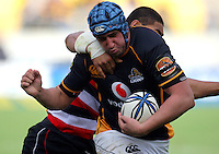 Wellington lock Daniel Ramsay. ITM Cup - Wellington Lions v Counties-Manukau Steelers at Westpac Stadium, Wellington, New Zealand on Sunday, 8 August 2010. Photo: Dave Lintott/lintottphoto.co.nz.
