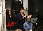 Beth Leavel and Matthew Sklar attends the Dramatists Guild Fund Salon with Matthew Sklar and Chad Beguelin at the home of Gretchen Cryer on December 8, 2016 in New York City.