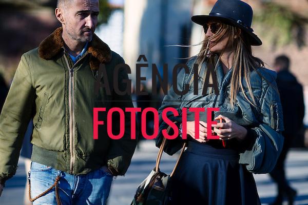 Street Style<br /> <br /> Pitti Uomo, Firenze, - Inverno 2016<br /> <br /> <br /> foto: FOTOSITE