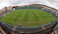 Photographer Bob Bradford/CameraSport<br /> <br /> Premiership Rugby Cup Round 1 - Bath Rugby v Harlequins - Saturday 27th October 2018 - The Recreation Ground - Bath<br /> <br /> World Copyright © 2018 CameraSport. All rights reserved. 43 Linden Ave. Countesthorpe. Leicester. England. LE8 5PG - Tel: +44 (0) 116 277 4147 - admin@camerasport.com - www.camerasport.com
