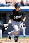 18 March 2007: Florida Marlins first baseman Mike Jacobs hits a two-run homer against the Washington Nationals at Space Coast Stadium in Viera, Florida...Mandatory Photo Credit: Ed Wolfstein Photo