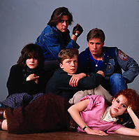 The Breakfast Club (1985) <br /> Anthony Michael Hall, Emilio Estevez, Molly Ringwald, Judd Nelson &amp; Ally Sheedy<br /> *Filmstill - Editorial Use Only*<br /> CAP/KFS<br /> Image supplied by Capital Pictures