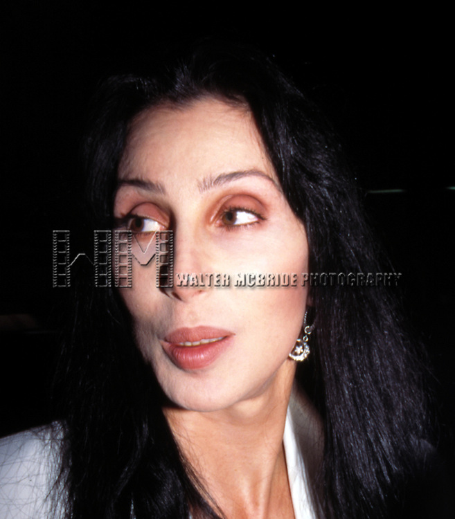 Cher.JUNE 19, 1995.FOUR SEASONS HOTEL.NEW YORK CITY.CREDIT ALL USES