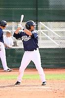 Sean Kazmar, San Diego Padres 2010 minor league spring training..Photo by:  Bill Mitchell/Four Seam Images.
