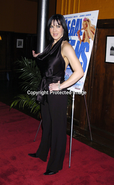 "Joanie ""Chynna"" Laurer ..at a screening of a trailer for ""Illegal Alliens"" produced by John James and starring Joanie Laurer and Anna Nicole Smith on March 1, 2006 at Tribeca Cinemas...Robin Platzer, Twin Images"