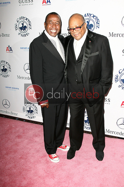 Ben Vereen and Quincy Jones<br />