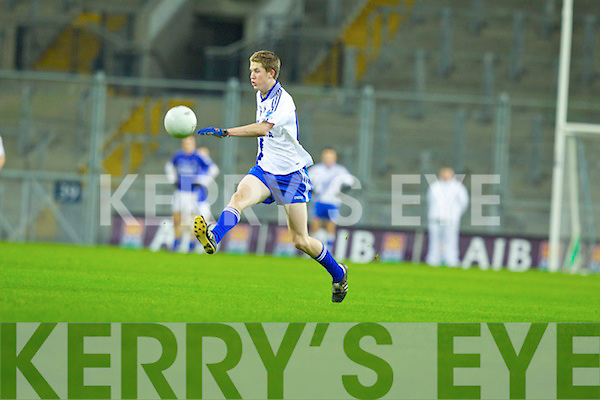 Aidan Walsh Saint Mary's, Cahersiveen, v Saint Mary's, Swanlinbar in the All Ireland Junior Club Championship at Croke park on Saturday evening.