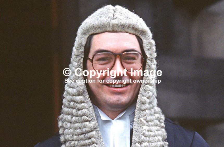 Richard McLaughlin, QC, barrister, N Ireland, 19850003RML.<br />