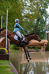 Stamford, Lincolnshire, United Kingdom, 7th September 2019, Katie Preston (GB) & Templar Justice during the Cross Country Phase on Day 3 of the 2019 Land Rover Burghley Horse Trials, Credit: Jonathan Clarke/JPC Images