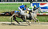 Tiki Barber winning at Delaware Park on 6/30/10