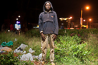 Harrison Shem, a 14 year old street kid living in Westlands, Nairobi