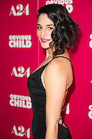 Jenny Slate arrives at the Los Angeles Special Screening of A24's OBVIOUS CHILD at Arclight Hollywood
