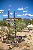 Goffs California, a Ghost Town on Route 66.