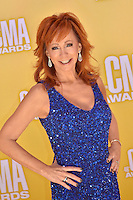 NASHVILLE, TN - NOVEMBER 1: Reba McEntire on the Macy's Red Carpet at the 46th Annual CMA Awards at the Bridgestone Arena in Nashville, TN on Nov. 1, 2012. © mpi99/MediaPunch Inc. ***NO GERMANY***NO AUSTRIA*** .<br />