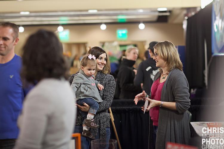 02/12/12 - Kalamazoo, MI: Kalamazoo Baby & Family Expo.  Photo by Chris McGuire.  R#14