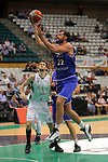 Basketball Champions League 2017/18 - Previus.<br /> Divina Seguros Joventut vs Dinamo Tbilisi: 86-66.<br /> Xabi Lopez-Arostegui vs Nikoloz Tskitishvili.