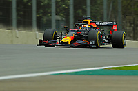 15th November 2019; Autodromo Jose Carlos Pace, Sao Paulo, Brazil; Formula One Brazil Grand Prix, Practice Day; Max Verstappen (NED) Red Bull Racing RB15 - Editorial Use