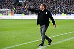 04.11.2018, Sch&uuml;coArena / Schueco Arena, Bielefeld, Deutschland, GER, 2. FBL, DSC Arminia Bielefeld vs. FC St. Pauli<br /> <br /> DFL REGULATIONS PROHIBIT ANY USE OF PHOTOGRAPHS AS IMAGE SEQUENCES AND/OR QUASI-VIDEO.<br /> <br /> im Bild Markus Kauczinski (Trainer / Coach St. Pauli)<br /> <br /> Foto &copy; nordphoto / Kurth