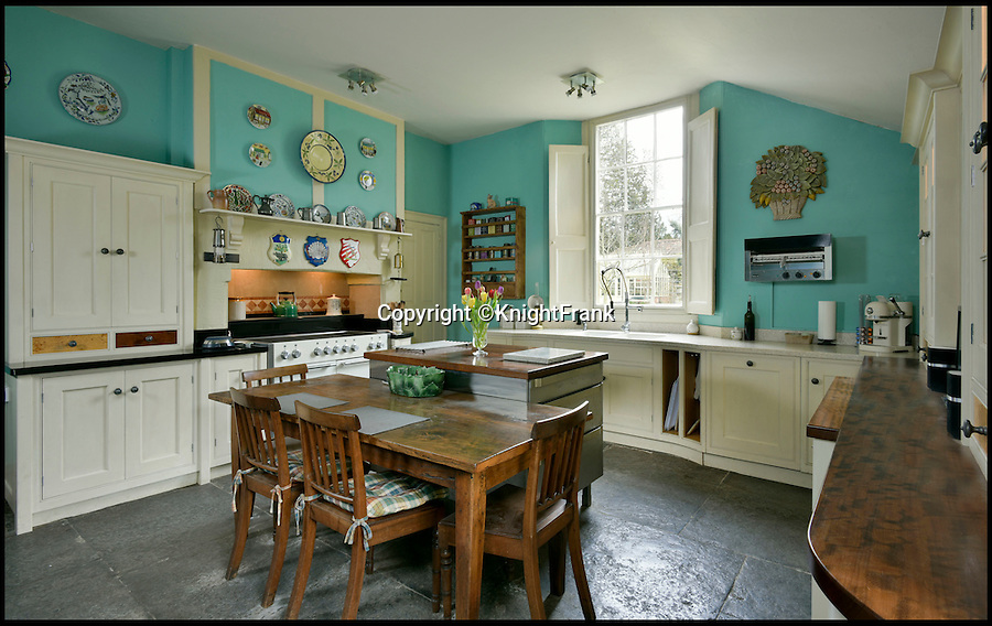 BNPS.co.uk (01202 558833)<br /> Pic: KnightFrank/BNPS<br /> <br /> The kitchen doesn't quite match Hampton Court Palace - the Cardinals later London home.<br /> <br /> It's not quite Wolf Hall - but fans of the Bafta-winning 16th century period drama can get their hands on notorious cleric Cardinal Wolsey's old house after it was put up for sale.<br /> <br /> Henry VIII's right hand man lived at the Old Rectory during his time as a parish priest in Limington, a tiny village near Yeovil in Somerset, prior to his meteoric rise to power and subsequent demise.<br /> <br /> Wolsey was rector at St Mary's Church until 1509 when Henry VIII ascended the throne and appointed him to the privy council, the king's most trusted advisers.<br /> <br /> The Old Rectory is for sale with Knight Frank estate agents for &pound;1.5m.