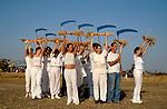 Israel, Jezreel Valley. Shavuot Celebration in Moshav Beth Yehoshua