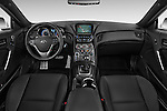 Stock photo of straight dashboard view of2015 Hyundai Genesis Coupe 3.8T 8-Speed A/T 2 Door Coupe 2WD Dashboard