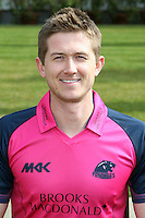 Joe Denly in the Middlesex Friends Life Twenty 20 Kit - Middlesex County Cricket Club Press Day at Lords Cricket Ground, London - 08/04/13 - MANDATORY CREDIT: Rob Newell/TGSPHOTO - Self billing applies where appropriate - 0845 094 6026 - contact@tgsphoto.co.uk - NO UNPAID USE.