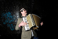 Cosmic Ray and the Constellations<br /> Photo shoot<br /> Manchester<br /> <br /> Bruce Rafeek - Accordion, Piano and Keyboard.