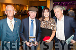 Sammy Locke with Michael Healy Rae, Caroline McEnery and Billy Keane (Judges) The Kerins O'Rahillys Strictly Come Dancing, held at the Brandon Hotel, Tralee on Saturday night last.