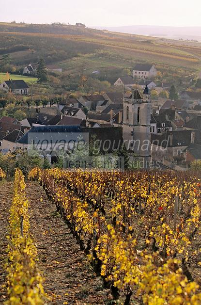 Europe/France/89/Yonne/Irancy: Le village et le vignoble