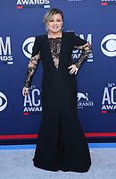 07 April 2019 - Las Vegas, NV - Kelly Clarkson. 2019 ACM Awards at MGM Grand Garden Arena, Arrivals. Photo Credit: mjt/AdMedia