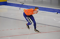 SCHAATSEN: BERLIJN: Sportforum, Essent ISU World Cup Speed Skating | The Final, 11-03-2012, Mass Start Men, Jorrit Bergsma (NED), ©foto Martin de Jong