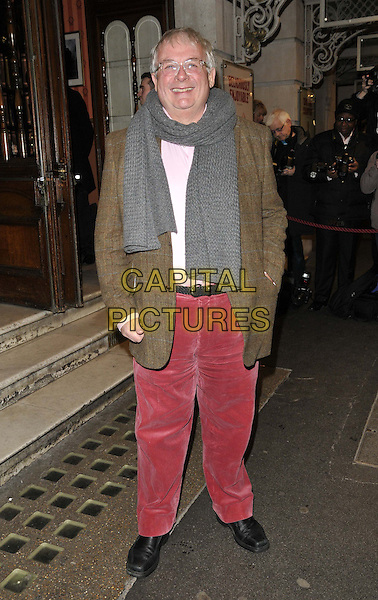 LONDON, ENGLAND - FEBRUARY 25: Christopher Biggins attends the &quot;The Full Monty&quot; press night, Noel Coward Theatre, St Martin's Lane, on Tuesday February 25, 2014 in London, England, UK.<br /> CAP/CAN<br /> &copy;Can Nguyen/Capital Pictures
