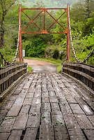The Sylamore Creek Swinging Bridge over south Sylamore Creek on CR 283 was built in 1943 and is 200 ft long and ll.1 ft wide.  The bridge was listed on the Natinal Register of Historic Places in 1999.