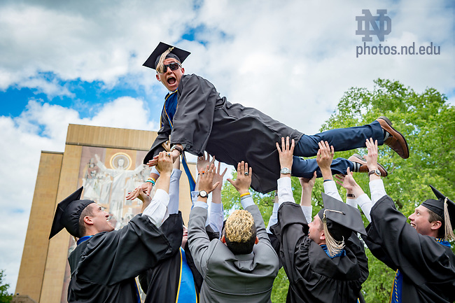 May 21, 2017; Commencement 2017. (Photo by Matt Cashore/University of Notre Dame)